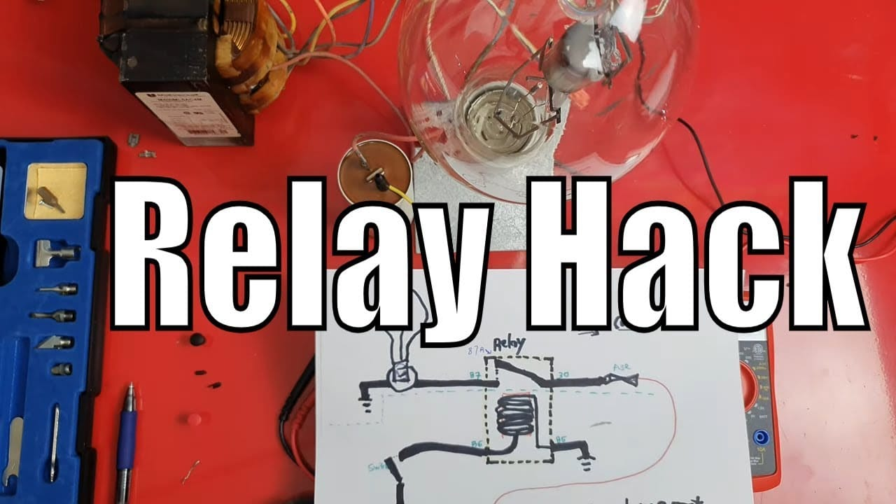 How To Test A 4 Pin Relay  U2013 Diy Auto Repair Videos The