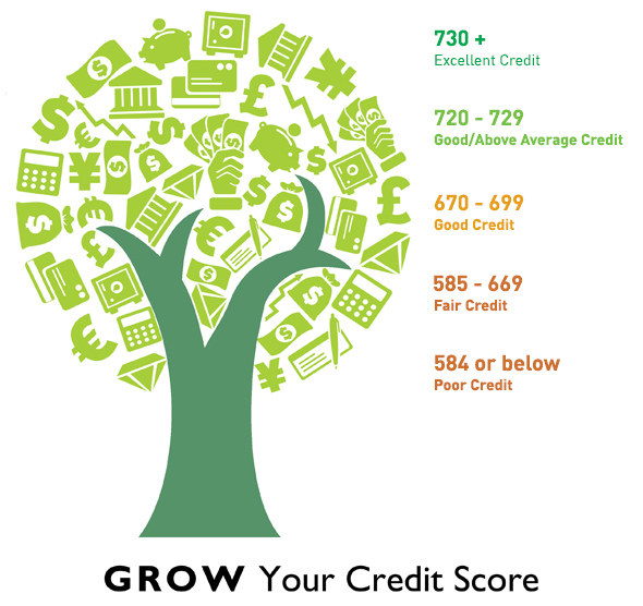 Grow Your Credit Score FICO