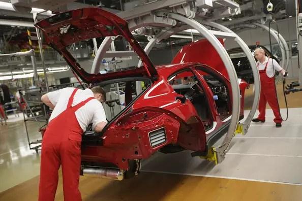 Porsche Panamera Assembly Leipzig