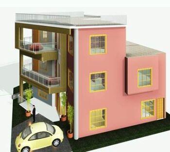 Trapezoidal-house-design-3d-2