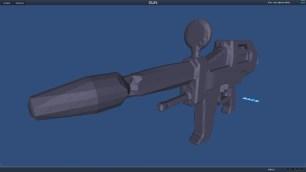 looks like a lego gun