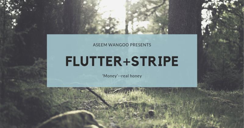 Flutter + Stripe +Firebase