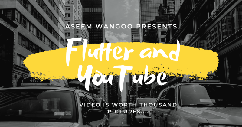 Flutter and YouTube