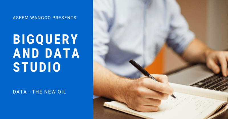 BigQuery and Data Studio