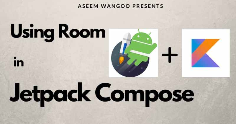 Using Room in JetpackCompose