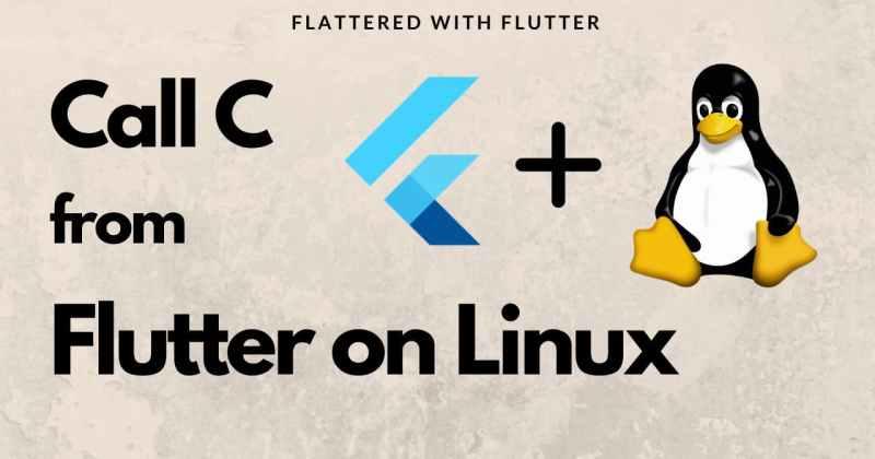 Dart FFI andLinux