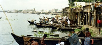 On the Buriganga River - Dhaka