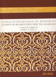 Videla, M.A., Ejemplos de ornamentación del Renacimiento