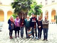Clase de Flauta de pico del Conservatorio Sup. de Sevilla