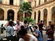 Orquesta Barroca del Conservatorio - Prof. Valentín Sánchez