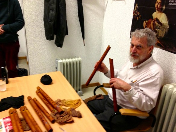 Bob Marvin en una de sus visitas a Sevilla
