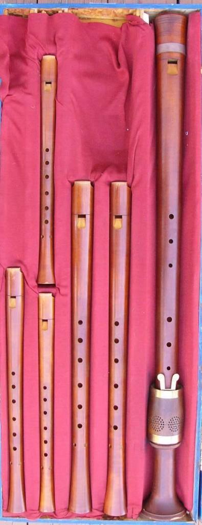 Consort de flautas renacentistas a cuatro pies de Bob Marvin