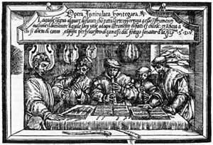 Portada del tratado Fontegara de Ganassi