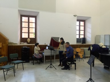Dan Laurin recorder masterclass in Sevilla - Inés Pina