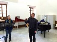 Dan Laurin recorder masterclass in Sevilla - Alejandra Fernández