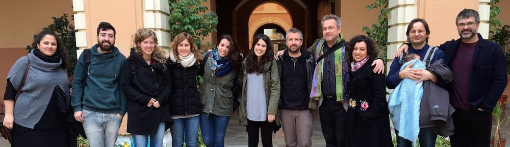 Visita de Dan Laurin a la clase de flauta de pico del Conservatorio Superior de Sevilla (2015)