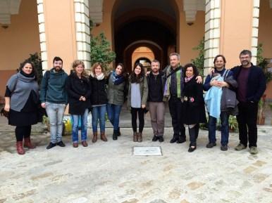Sevilla recorder class with guest teacher Dan Laurin