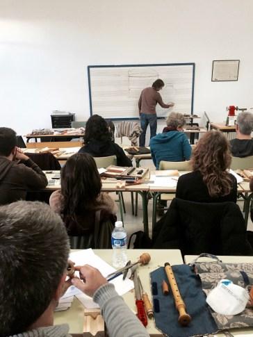 making recorder blocks with fernando paz - 15