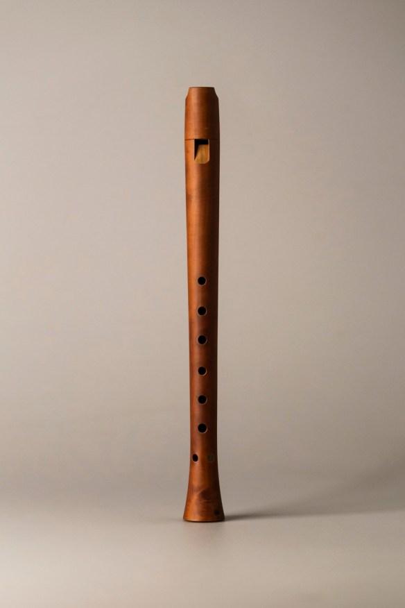 Flauta Van Eyck según Bob Marvin. Foto: beautifulrecorders.com