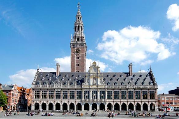 Biblioteca de la Universidad de Lovaina. Fuente: KU Leuven