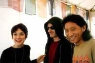 com Wynona Rider e Bono Vox (U2)