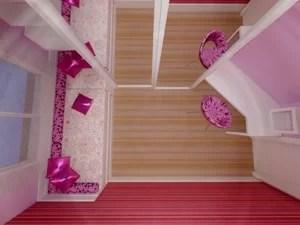 decoração interiores suite menina