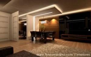 Projetos de Interiores e decoração