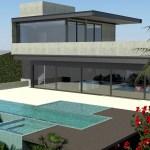 Projeto de arquitetura em aço para residencia - fazenda serra azul - Flavia Medina Arquiteta