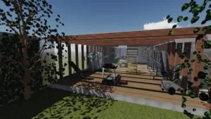 projeto de academia residencial