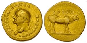 Vespasian Aureus