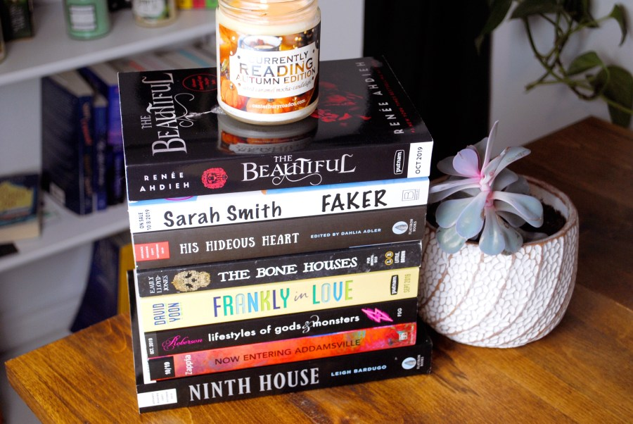 october 2019 monthly TBR pile