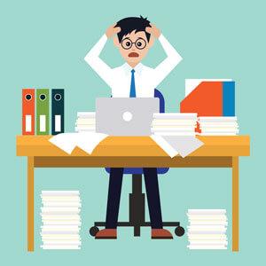 stress au travail surcharge burn out