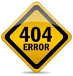 Pagina error 404