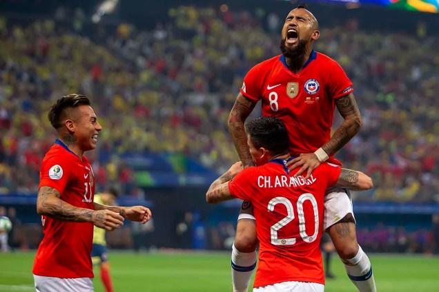 COPA AMÉRICA 2019: COLÔMBIA X CHILE