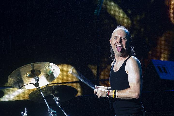 SÃO PAULO,SP,22.03.14 - SHOW METALLICA - Show da banda norte americana Metallica realizado no Estádio do Morumbi. Formada na cidade de Los Angeles, Estados Unidos, em 1981, é formada por: James Hetfield (guitarra e vocal), Lars Ulrich (bateria), Kirk hammet (guitarra) e Robert Trujillo (baixo) .(Foto Flavio Hopp/Comando Rock)