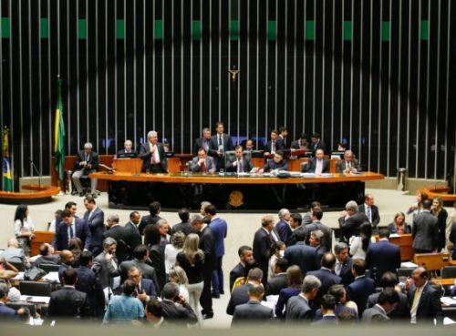 Plenário da Câmara - Votação e discussão das medidas contra à corrupção, no plenário da Câmara dos Deputados. Brasilia, 29-11-2016. Foto: Sérgio Lima / PODER 360.