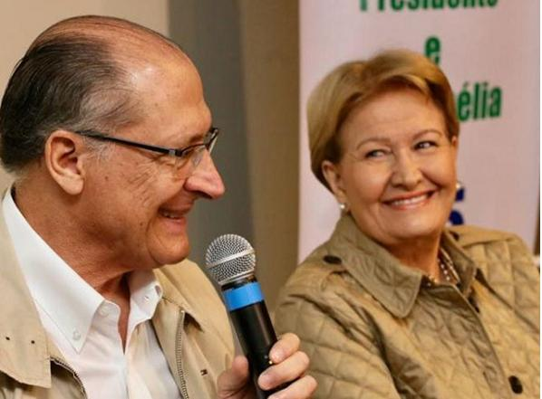 ALCKMIN: VOTO EM BOLSONARO É PASSAPORTE PARA VOLTA DO PT