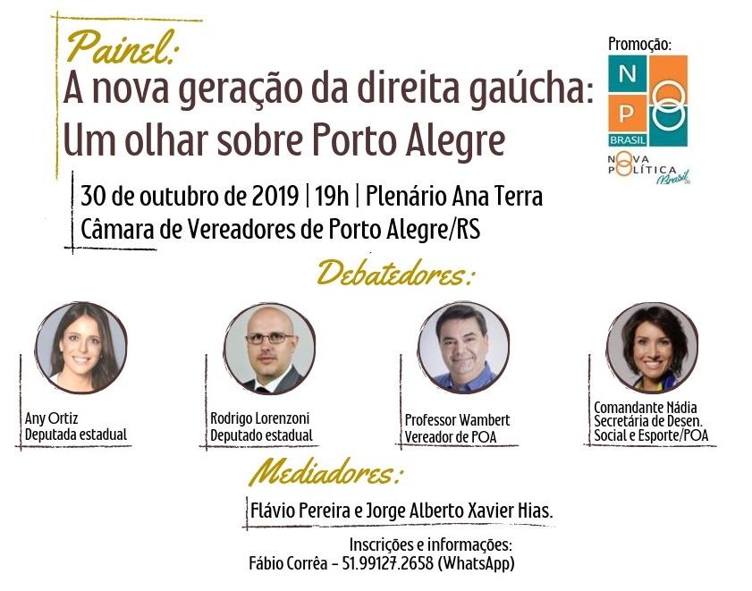 Painel: A nova geração da direita gaúcha: Um olhar sobre Porto Alegre
