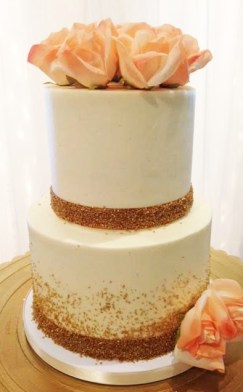 gold-sugar-wedding-cake-two-tier