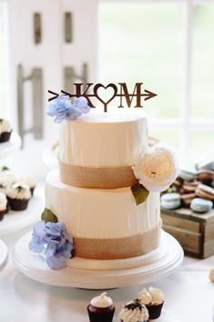 wedding cake dessert display - Paige Victoria Photography