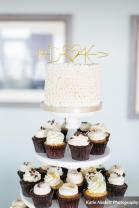 wedding cupcake display - Katie Nesbitt Photography