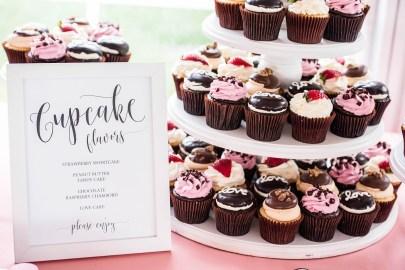 wedding cupcake display signage 3 -Erin Michelle Photography