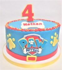 paw patrol birthday cake 2