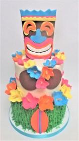 two tier Hawaiian cake