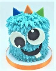 monster smash birthday cake