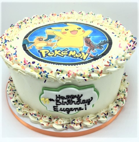 pokemon edible image cake 2