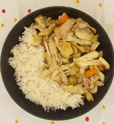 slow cooker moroccon chicken