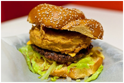 Photo credit: Wiener and Still Champion; seen on: http://www.thedailymeal.com/over-top-burger-toppings-slideshow