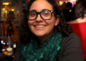 Image of food blogger Jaleh Najafali