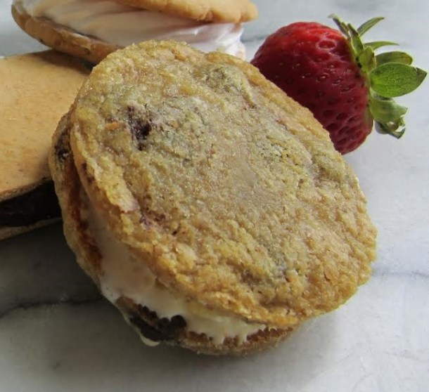 Mirbeau Pinehills - Brown Sugar Pineapple Ice Cream Sandwich